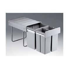 Einbau-Muelleimer-Abfallsammler-40-Liter-3-fach-und-Zubehoer