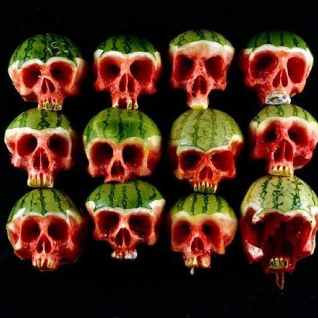 Watermelons...European sculptor
