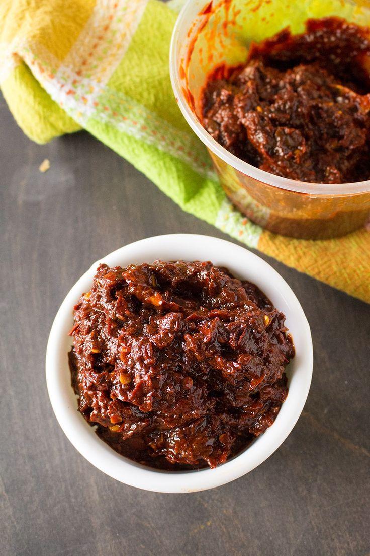 Ancho-Guajillo Paste – Recipe