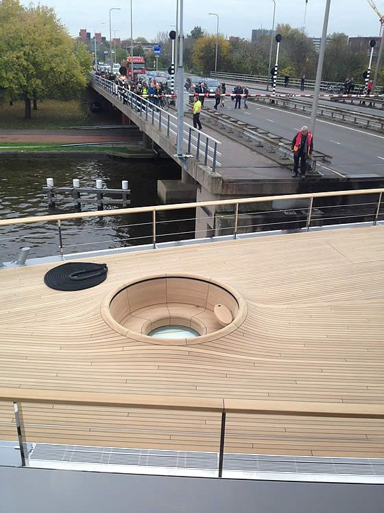 Feadship's recent launch #superyacht VENUS shows what you can do with a teak deck