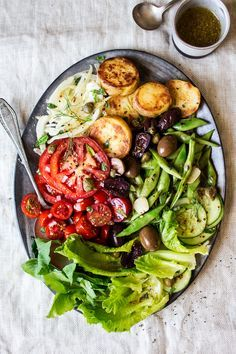 This vegan nicoise salad is a plant-based take on a French classic. Full of contrasting flavours and textures, it makes a light yet substantial summer meal.
