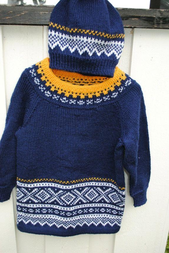 Tunika/genser str 2-4 år