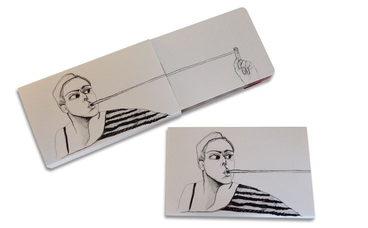 GumStretch Sugar Free Chewing Gum Pack  Designed by Adelina:  Adelina received her Masters of Arts degree at the Academy on Fine Arts in Warsaw - Poland (Graphic Art Department). She is an illustrator, graphic designer and industrial designer and has developed creative campaigns for several international companies. Graphics Form founder since October 2011. Find more about this artist on www.graphicforms.eu