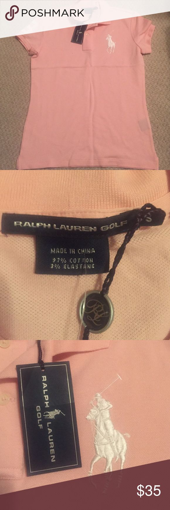 Polo Ralph Lauren Golf Women's Polo Ralph Lauren Golf Polo. Size S. Great Condition. New With Tags. Polo by Ralph Lauren Tops Blouses