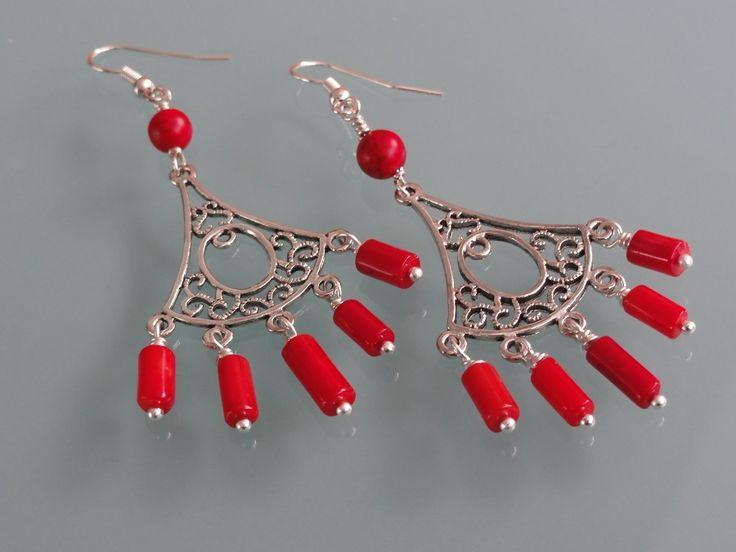 Biżuteria - na koralowo...