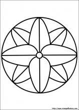 Disegni di Mandala da colorare