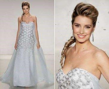 Vestidos de novia inspirados en las princesas de Disney. Este ...