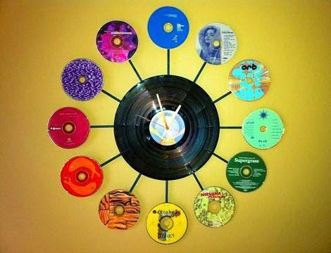 20 usos que les puedes dar a tus viejos cds ~ 8 OCHOA DESIGN STUDIO BLOG