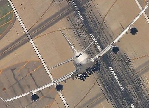 Jumbo take-off