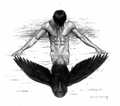 Raven Mockers are evil creatures from Cherokee mythology. Part human and part…