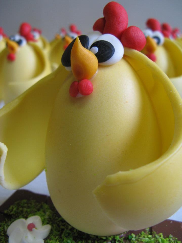 dettaglio gallinella cioccolato Pasqua Omar Busi
