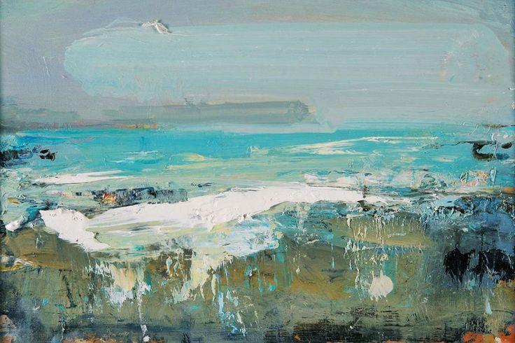 Rolling Clouds, Blue Seas, Gwithian - Hannah Woodman