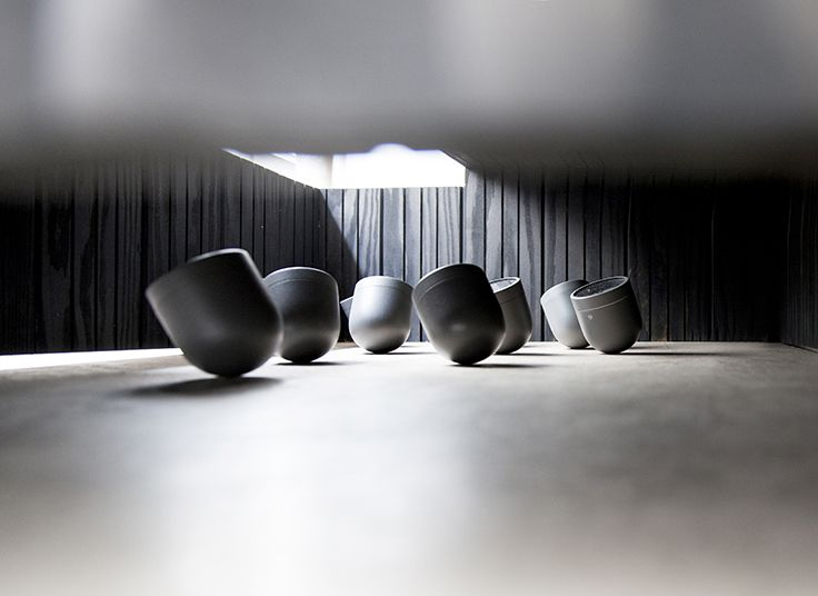 Enclose - a retrospective exhibition on objects and spatial relations. Photo by Jonas Bjerre-Poulsen/Norm Architects.