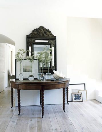 house beautiful jumbo large entry console table love the