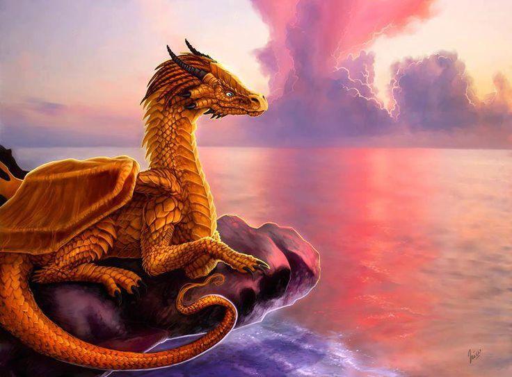картинки желтого дракона паре хочется создать