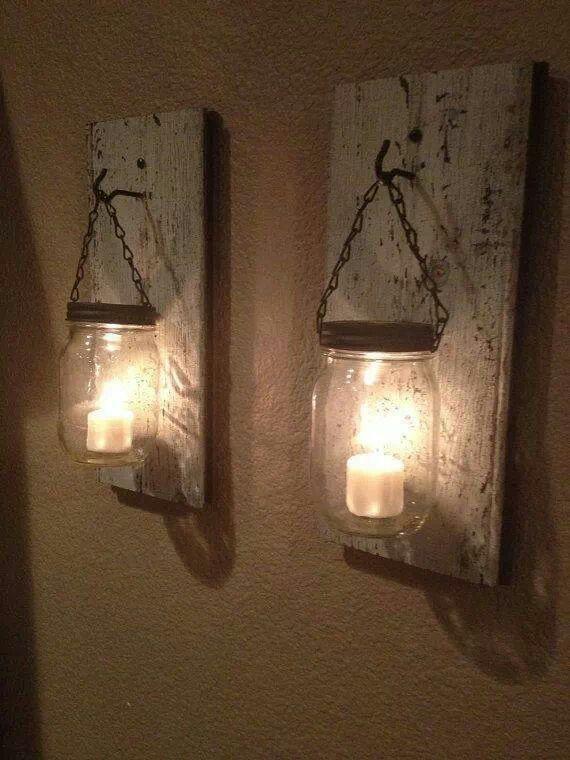 Love this lamp idea