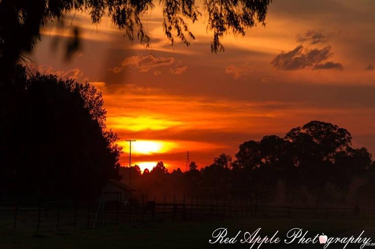 Sunset Kempton Park, South Africa
