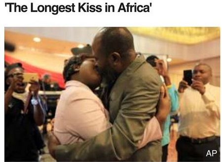 #Meet couple who won the 'longest kiss in Africa' (photos) #vibes247