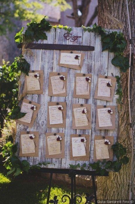 Matrimonio In Stile Country Chic : Tableau de mariage in stile shabby chic matrimonio nozze sposi