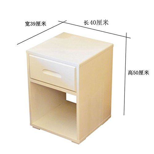Ewygfrfvqas White Bedside Table Mini Simple Modern Small Huxing Bedroom White Solid Wood Ultra Narrow Side Ca With Images White Bedside Table Bedroom Cabinets Side Cabinet
