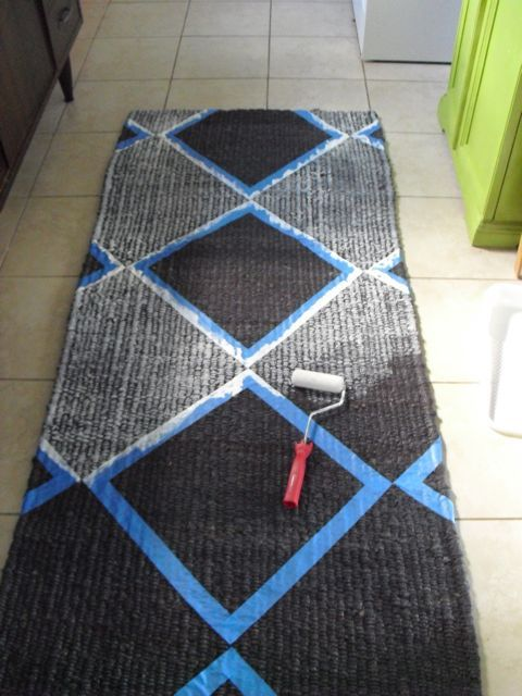 orlando goods decoration diy home inspiration  Throwback Thursday: Paint a Rug!