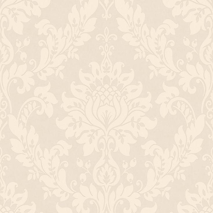 opus clara wallpaper mink at mink chocolate. Black Bedroom Furniture Sets. Home Design Ideas