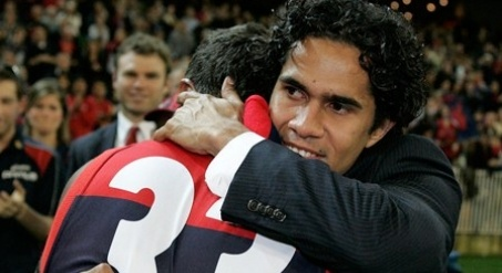 When the time came for the AFL's Indigenous All Stars to choose a leader for the inaugural performance of its war cry before the game against the Tigers in Alice Springs in February, its selection was an obvious one – Aaron Davey.