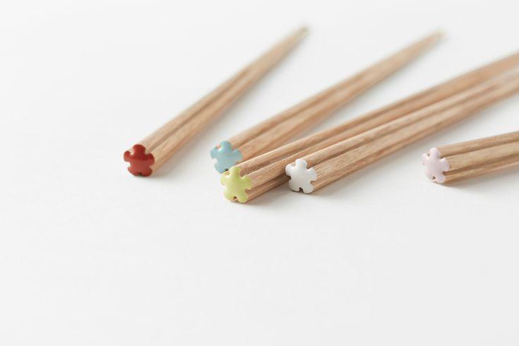 Bright and colourful these chopsticks are as fantastic as tuna tastes. Creative Modern Chopsticks Designs by Nendo - Design Milk