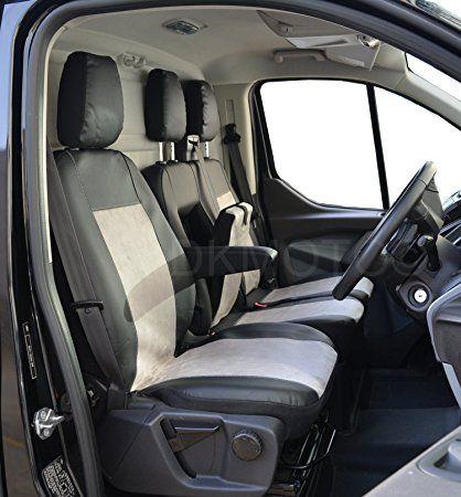 Tailored Seat Covers Ford Transit Custom Leatherette Alcantara