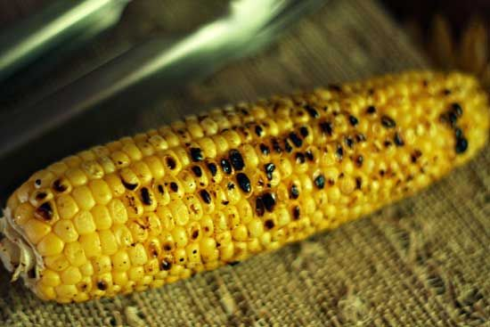 Grilled Chili-Lime Corn on the Cob | YUM! | Pinterest