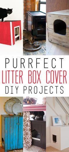 purrfect litter box cover diy projects diy and crafts litter box covers and boxes. Black Bedroom Furniture Sets. Home Design Ideas