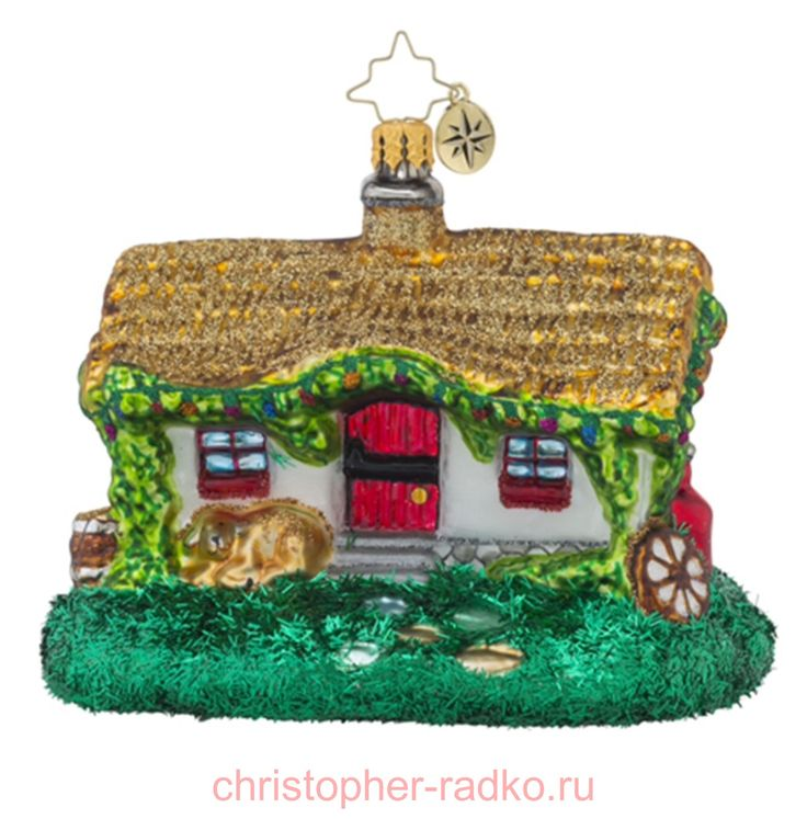 Елочная игрушка Ирландский коттедж арт.1018510