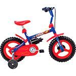 "Bicicleta Verden Rock Aro 12"" Azul / Vermelho Masculina Infantil 99,90"