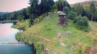 Filmare Aeriana Lacul Cuejdel 19 August 2014 Neamt Romania