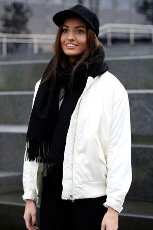 Samsøe Samsøe - Thoras Bomberjacket White