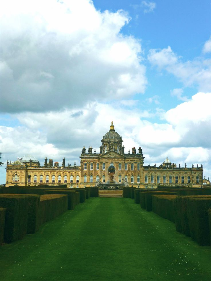 """Castle Howard is a stately home in North Yorkshire, England, 15 miles (24 km) north of York. One of the grandest private residences in Britain, most of it was built between 1699 and 1712 for the 3rd Earl of Carlisle, to a design by Sir John Vanbrugh.  Castle Howard has been the home of part of the Howard family for more than 300 years.  It is familiar to television and movie audiences as the fictional """"Brideshead Revisited"""" (wikipedia)"""