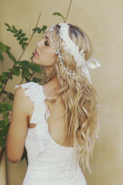$358.99 Dresswe.comサプライ品新しい到着の優雅な髪型ロングライト波状100%レミー人間の髪レースフロントモノフィラメントトップウィッグ約24インチ