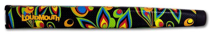 'Black Shagadelic' Oversize. Purchase online at www.tourmarkgrips.com
