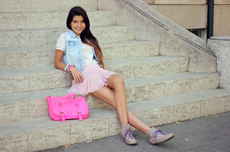 City Ballerina #look #moda #fashion #kids