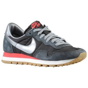 Nike Air Pegasus 83 - Women's - Black/Anthracite/Fusion Red/Metallic Cool Grey