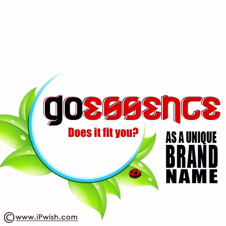 GoEssence Is Available To Use As Your Unique Business Name Including Socialmedia Domains And Trademarks Secure Brand See How Much You