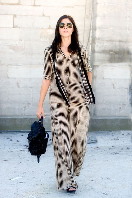 Модный тренд: пижама / фото 2016