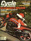 Cycle Magazine -Feb 1982 - Kawasaki GPz550, Yamaha IT250J, Laverda 1000 Jota - http://oddauctions.net/magazine-back-issues/cycle-magazine-feb-1982-kawasaki-gpz550-yamaha-it250j-laverda-1000-jota/