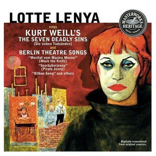 """I sette peccati capitali, di Bertold Brecht e Kurt Weill. I sette peccati capitali (titolo completo: """"I sette peccati capitali dei piccoli borghesi"""") è un balletto con canto in sette parti di Kurt Weill con testo di Bertold Brecht. La prima rappresentazione fu a Parigi al Théâtre des Champs-Elysées il 12 giugno 1933 prodotta da George Balanchine con Caspar Neher ed interpretata da Lotte Lenya."""