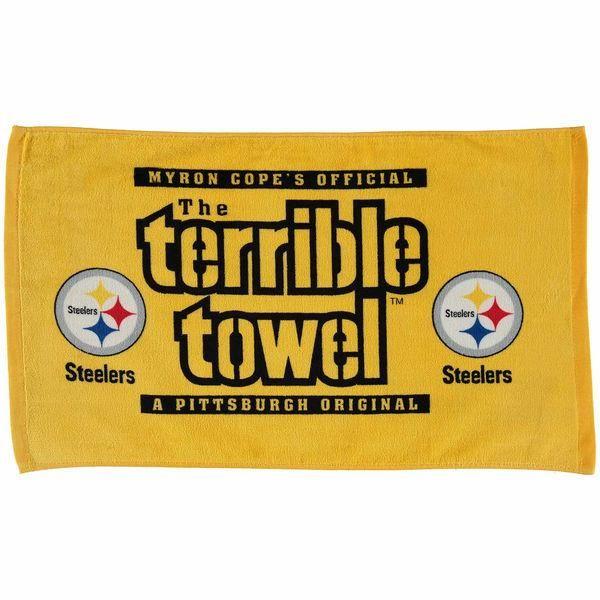 Pittsburgh Steelers NFL MYRON COPE'S Terrible Towel