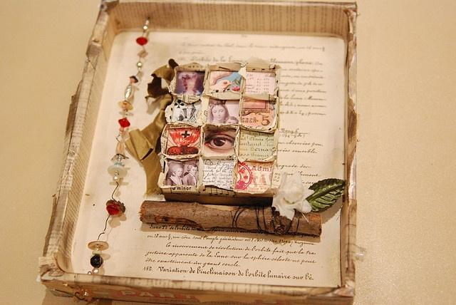 Altered Box #paper #altered #art