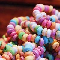 le collane di caramelle