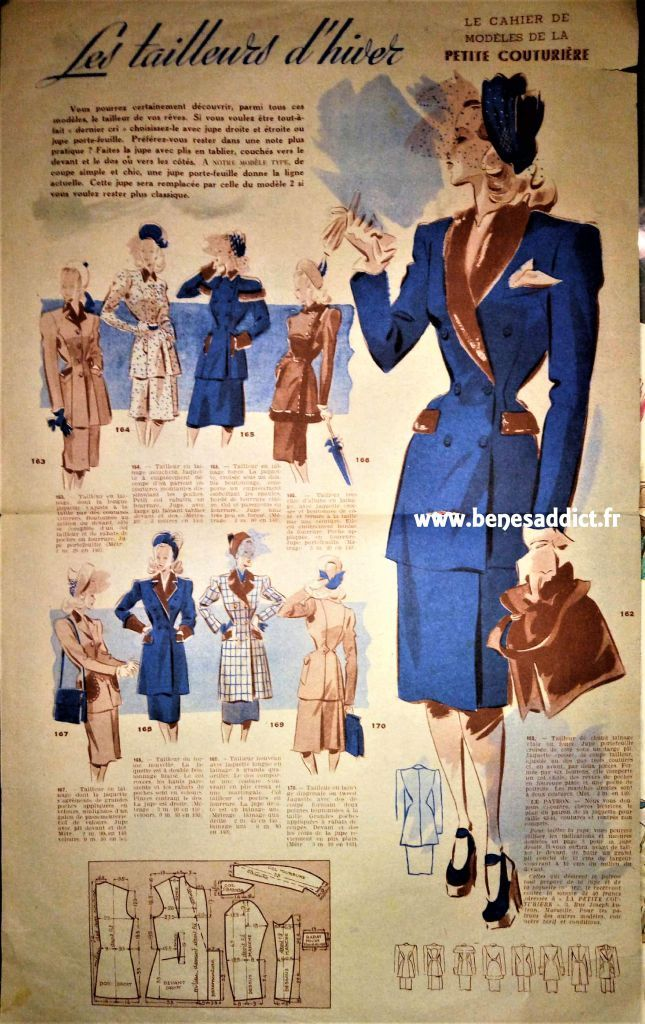 """GRATUITS Plus de 60 patrons"""" VINTAGE"""", Couture, Tricot, Crochet"""