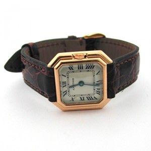 Montre en or de marque Cartier .http://www.bijoux-bijouterie.com/ #montre #vintage