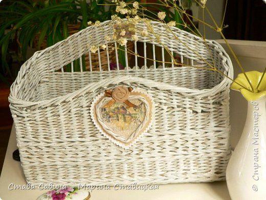 Поделка изделие Плетение Долгострой Трубочки бумажные фото 1